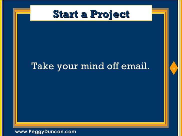 15 Ways To Cure Email Addiction Peggy Duncan Email ...