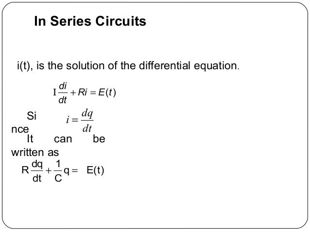 differential equations coursework aeroplane One of the modules for further maths (mei) is differential equations (de), within which there is an element of coursework the task of my class is to model.