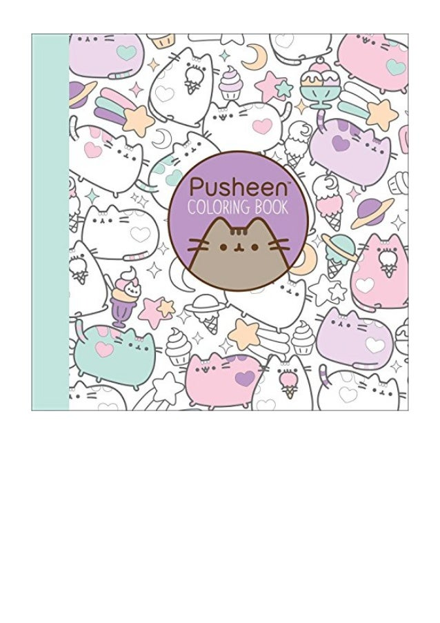 Pusheen Coloring Book (A Pusheen Book) - Claire Belton - EBook