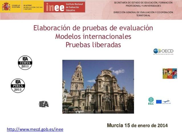SECRETARÍA DE ESTADO DE EDUCACIÓN, FORMACIÓN PROFESIONAL Y UNIVERSIDADES  DIRECCIÓN GENERAL DE EVALUACIÓN Y COOPERACIÓN TE...