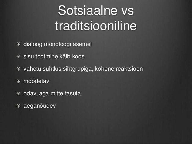Sotsiaalmeediaga KOVile Slide 2