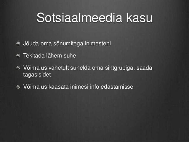Sotsiaalmeediaga KOVile Slide 3