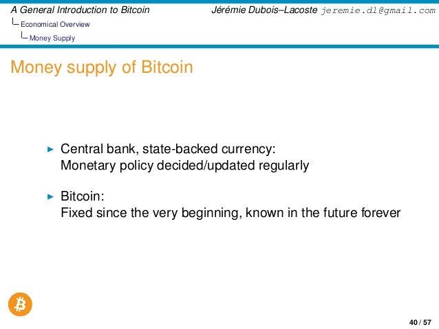 General Introdution to Bitcoin - 웹