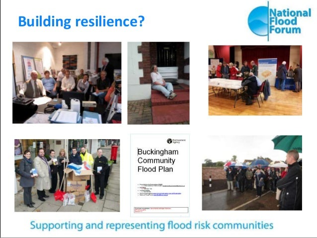 Building resilience?