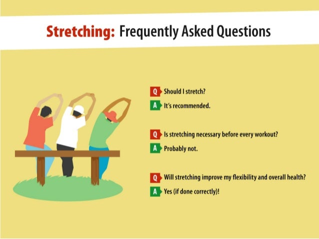 Stretching: Is It Necessary? Slide 2