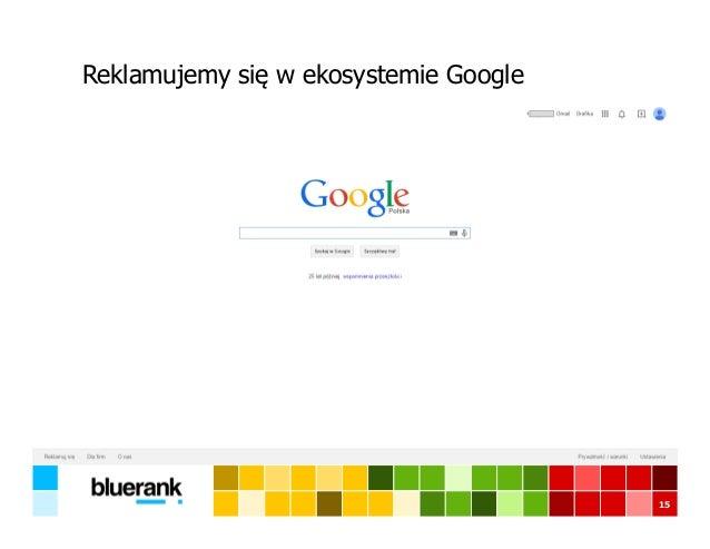 Reklamujemy się w ekosystemie Google 15