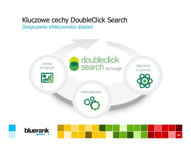 49 Kluczowe cechy DoubleClick Search Zwiększenie efektywności działań