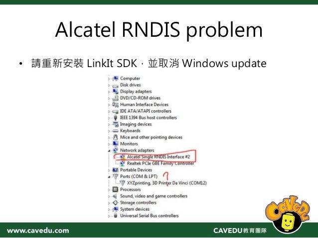 Alcatel composite rndis interface