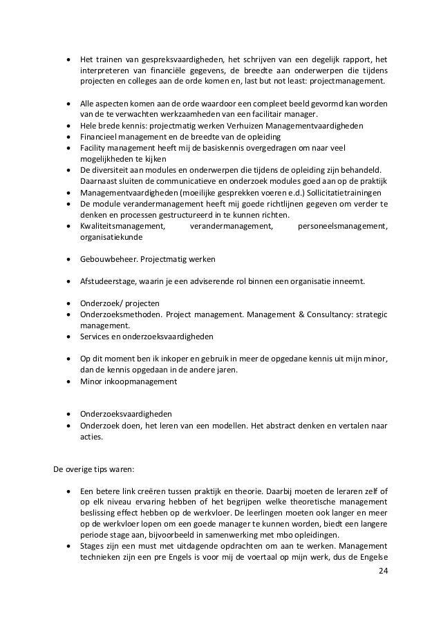 voorbeeld sollicitatiebrief servicedesk medewerker Rapportage alumnionderzoek FM 2015 voorbeeld sollicitatiebrief servicedesk medewerker