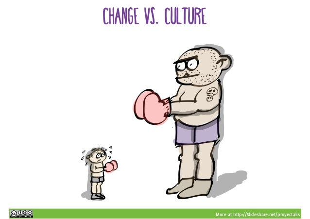 More at http://Slideshare.net/proyectalis change vs. culture