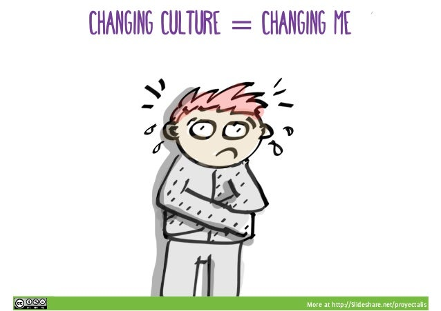 More at http://Slideshare.net/proyectalis changing culture = changing me
