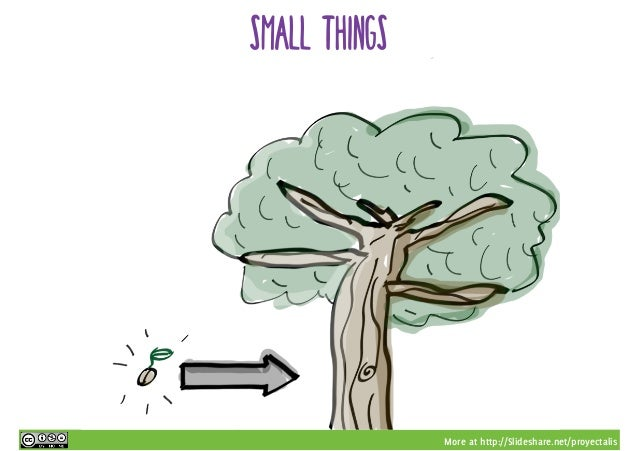 More at http://Slideshare.net/proyectalis small things