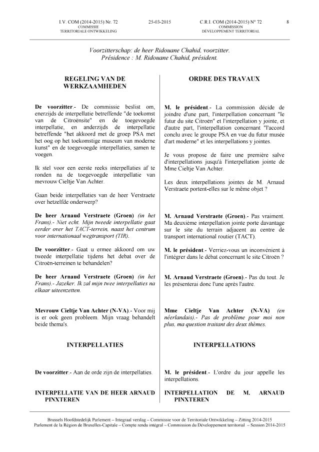 150325 commissie territoriale ontwikkeling   debat over de citroëngarage