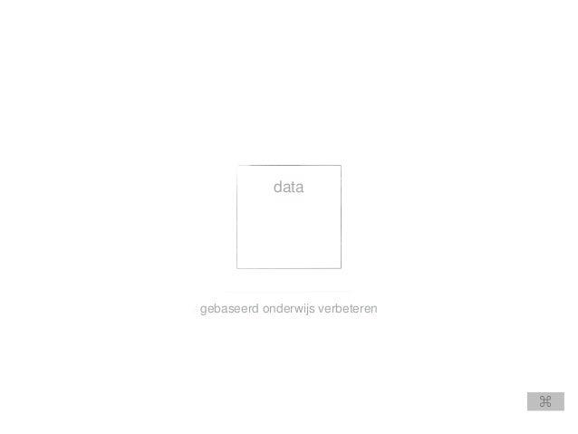 gebaseerd onderwijs verbeteren data