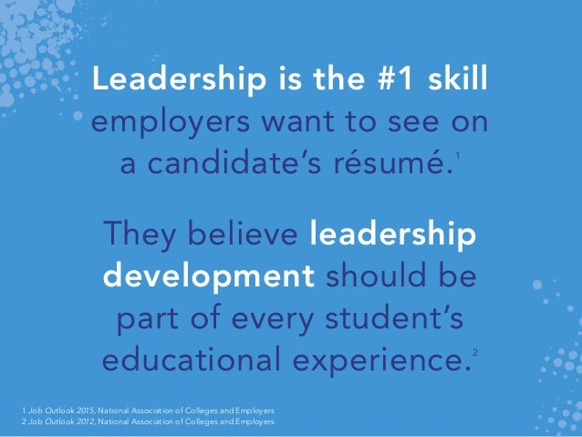 leadership competencies the skills employers look for