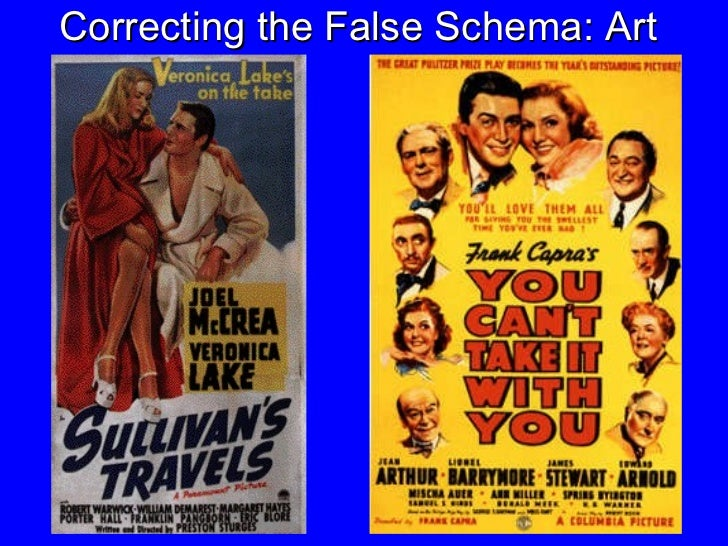 Correcting the False Schema: Art