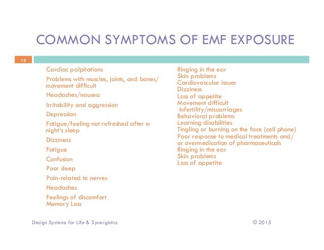 EMF, What is it, and why should you care?