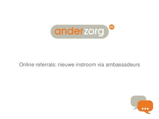 Online referrals: nieuwe instroom via ambassadeurs