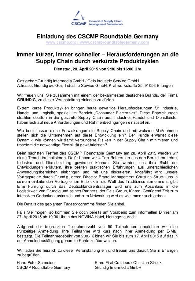 Gastgeber: Grundig Intermedia GmbH / Geis Industrie Service GmbH Adresse: Grundig c/o Geis Industrie Service GmbH, Kraftwe...