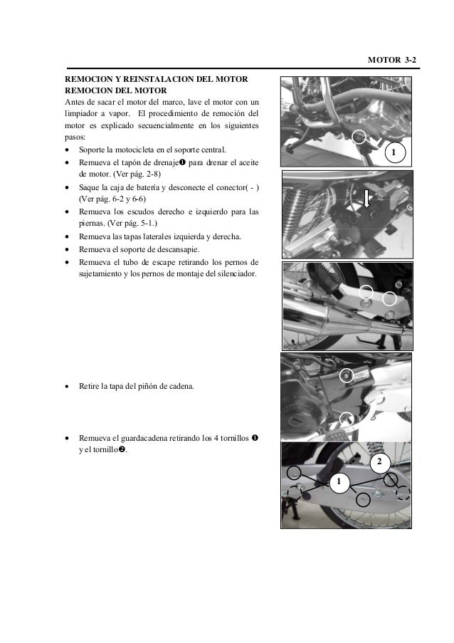 Manual de servicio de suzuki best 125