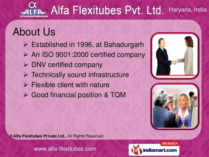 Industrial Division by Alfa Flexitubes Private Ltd. Bahadurgarh Slide 2