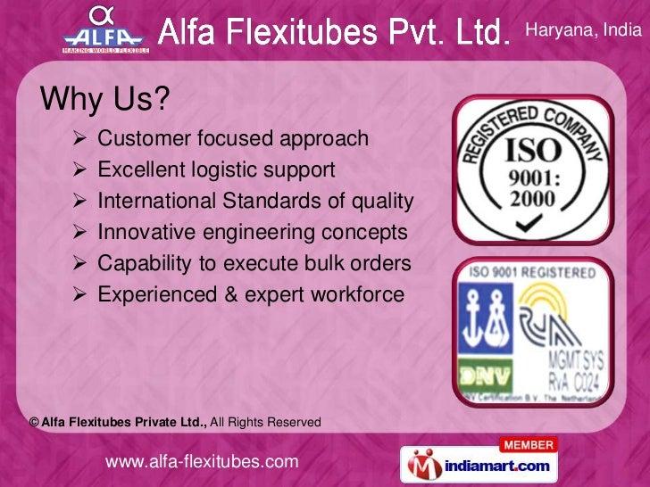 Industrial Division by Alfa Flexitubes Private Ltd. Bahadurgarh Slide 3