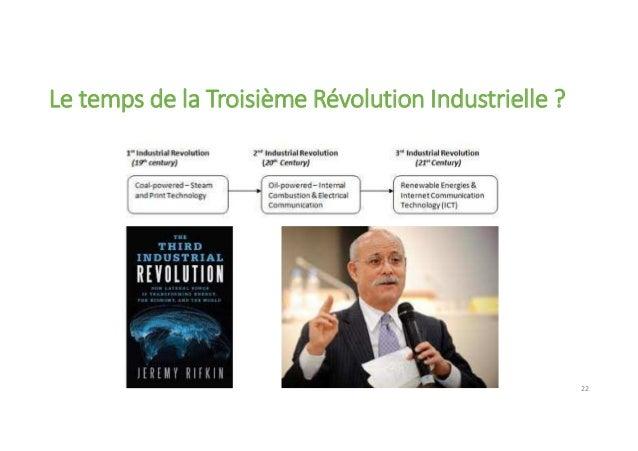 Le temps de la Troisième Révolution Industrielle ? 22