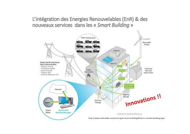 L'intégration des Energies Renouvelables (EnR) & des nouveaux services dans les « Smart Building » http://www.institutebe....
