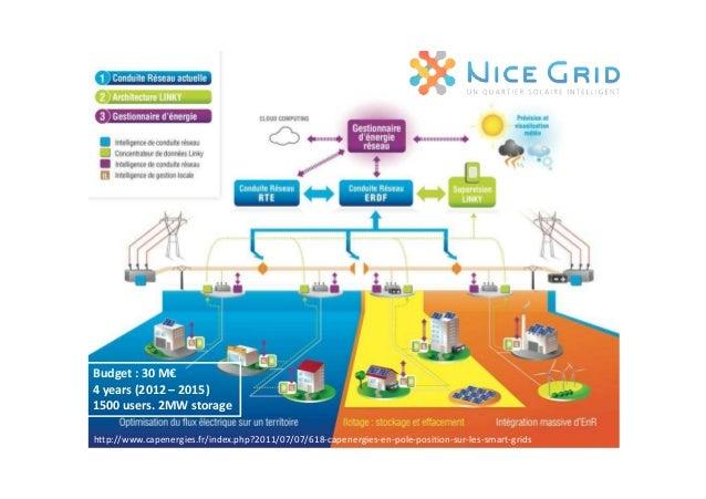• Un Smart Grid pour Grenoble & Lyon. • 1000 clients résidentiels, • 40 sites professionnels. • 12 partenaires : 39 M€ de ...