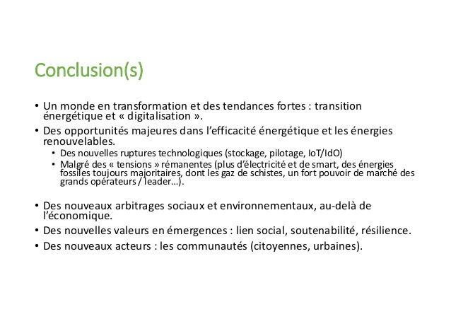 L'énergie demain : de la transition énergétique aux smart cities ? Olivier CATEURA, PhD. Professeur Associé - Grenoble Eco...