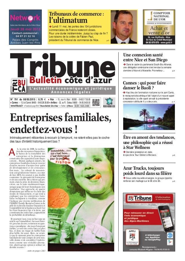 Tribunaux de commerce : l'ultimatum Lundi 11 mai, les portes des 134 juridictions commerciales de France resteront closes....