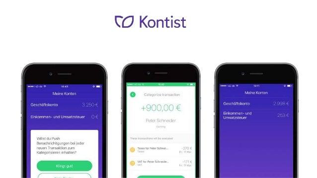 Kontist.com ist ein FinTech Startup aus Berlin, welches ausschließlich aus Freelancern und Selbstständigen besteht. Gemein...