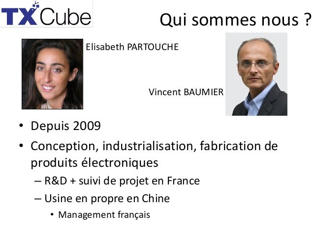 TX Cube presentation Manufacturing meetup April 22, 2015 Slide 2