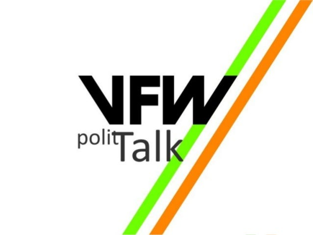 """© VFW e.V. 2015Seite 2 Do. 21. Mai 2015 Rathausstandort """"Warum müssen wir darüber diskutieren?"""""""