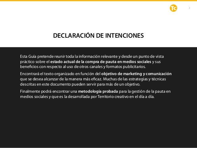DECLARACIÓN DE INTENCIONES Esta Guía pretende reunir toda la información relevante y desde un punto de vista práctico sobr...