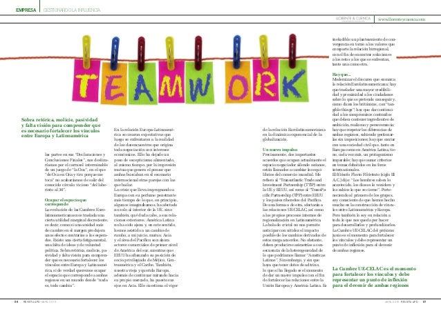 empresa 56 abril 2015revista apd 57abril 2015 revista apd gestionando la influencia ineludible un planteamiento de con- ve...