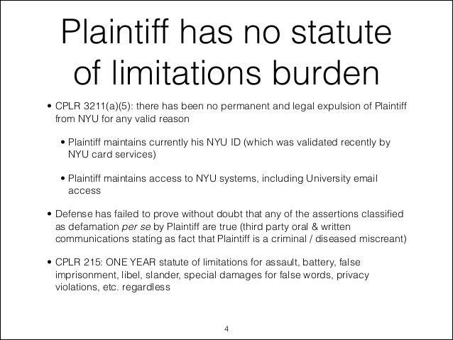 article 78 statute of limitations