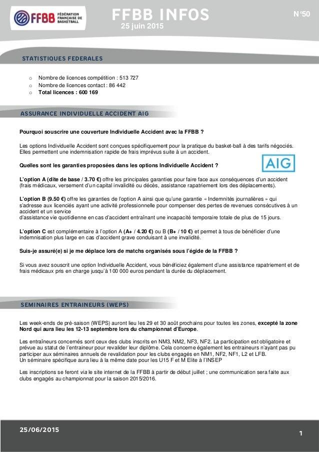 25/06/2015 1 1/Résultats des Equipes de France : o Nombre de licences compétition : 513 727 o Nombre de licences contact :...