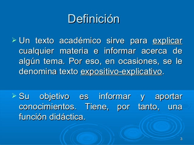 Texto acadêmico