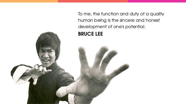 To me, the function and duty of a quality