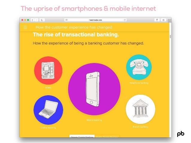 The uprise of smartphones & mobile internet