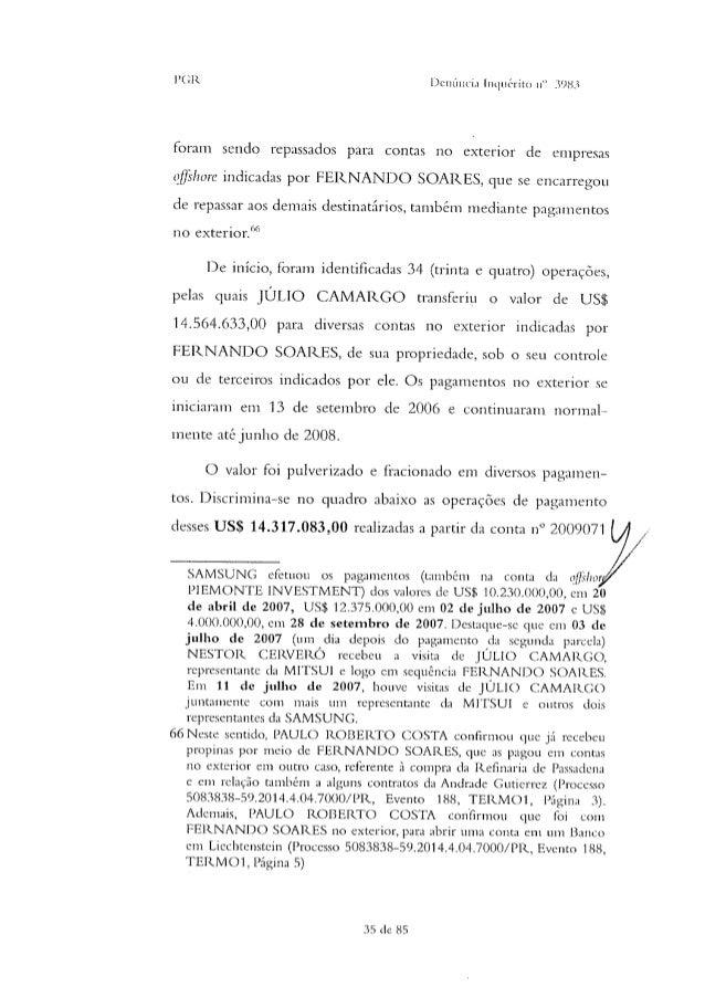 A SEGUNDA PARTE DA DENÚNCIA CONTRA EDUARDO CUNHA 150820170450