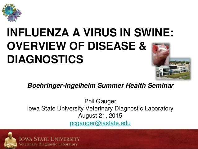 Dr  Phil Gauger - Influenza 'A' Virus in Swine: Overview of