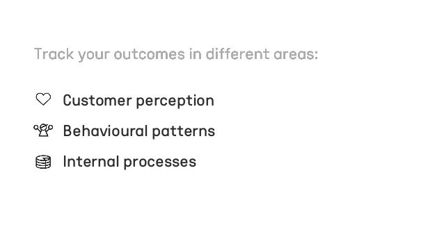 #3 Focus on value outcomes