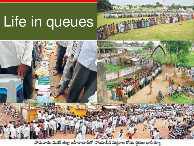Life in queues