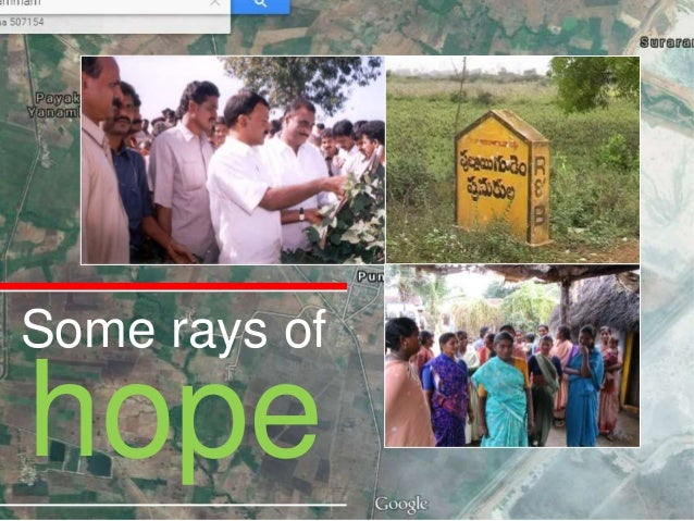 Some rays of hope