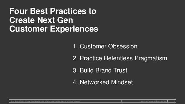 1. Customer Obsession