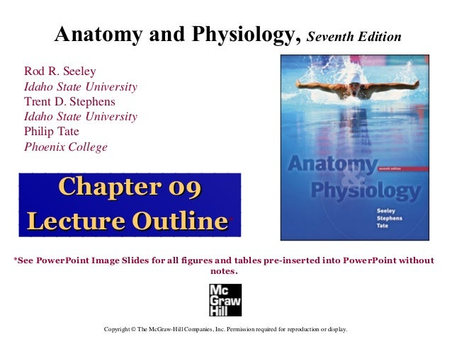 Anatomy and Physiology, Seventh Edition  Rod R. Seeley  Idaho State University  Trent D. Stephens  Idaho State University ...