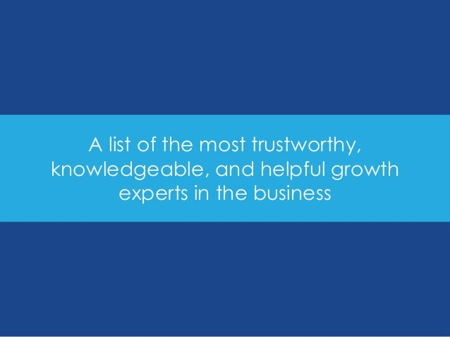150 Growth Leaders You Must Follow on Twitter Slide 2
