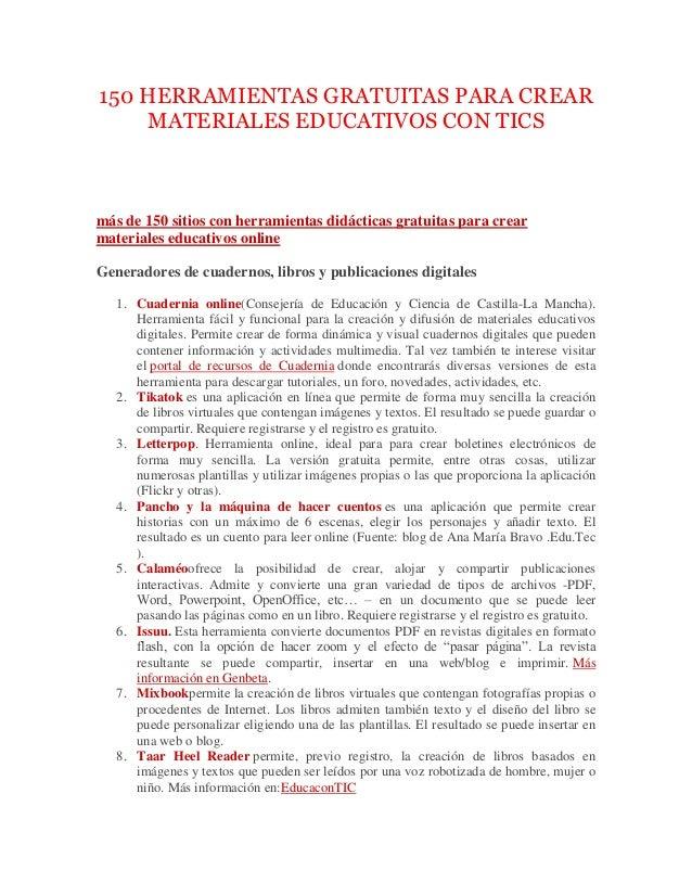 150-herramientas-gratuitas-para-crear -materiales-educativos-con-tics-1-638.jpg?cb=1434990013